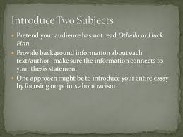 thesis statement for racism in othello essay writing sites uk critical thinking games for students
