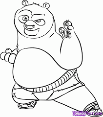 Small Picture Coloring Pages Draw A Panda Bear Coloring Page Blog