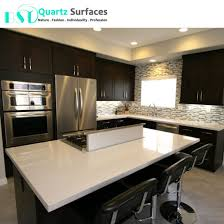 pre cut white sparkle quartz stone countertop