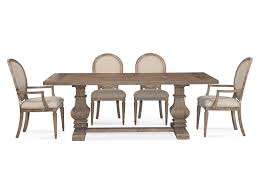 bassett mirror dining table. Bassett Mirror Belgian Luxe Kinzie Casual Dining Set Table T