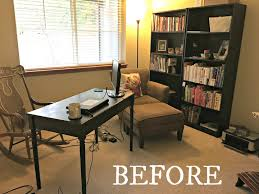 healthy home office. Before And After Home Office Makeover From Www.EverydayMaven.com Healthy