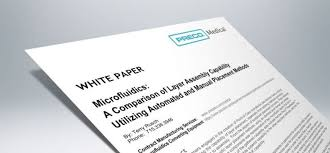 White Paper White Paper How To Assemble Your Microfluidic Test Device