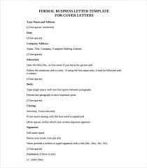 Business Letter Template 20 Free Sample Example Format Free