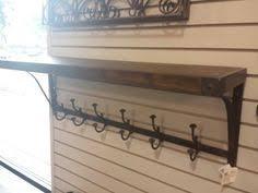 Metal Coat Rack With Shelf too too pretty Rustic Coat Rack Reclaimed Upcycled Wood Shelf by 15