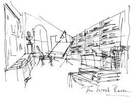 Perfect Rough Architectural Sketches Sketch Interior J With Impressive Ideas