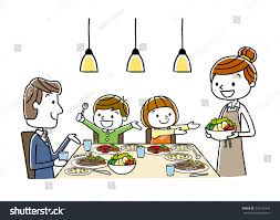 dinner table clipart. Interesting Clipart Family Meal Dining Stock Dinner Clipart Dinner Table Svg Free On Table Clipart Y