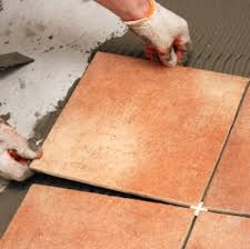 how to install ceramic tile setting