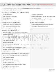 How To Prepare Your Aos Package Forms Requirements And Checklist