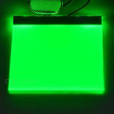 5 5 0 2cm diy green light led backlight light guide panel lgp for arduino raspberry pi white electro