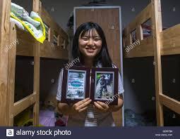 n teen defector showing an army training diploma   n teen defector showing an army training diploma national capital area seoul south korea