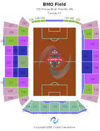 Circumstantial Bmo Field Seating Chart Seat Number Turner