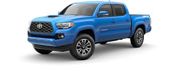 Toyota Truck Gas Mileage Chart 2020 Toyota Tacoma Pickup Built For The Endless Weekend