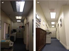 natural light bulbs for office. modern natural light bulbs for office hallway in before a and after b inspiration decorating e