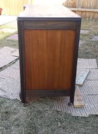 old art deco style vanity becomes a desk painted furniture repurposing upcycling art deco era furniture