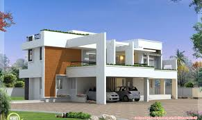 Smart placement modern house plans ideas luxury contemporary villa design kerala home floor plans