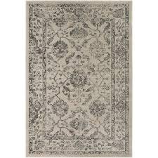 surya tharunaya medium gray 2 ft x 3 ft area rug