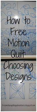 Best 25+ Machine quilting patterns ideas on Pinterest | Machine ... & Amy's Free Motion Quilting Adventures: How to Free Motion Quilt: The Designs Adamdwight.com
