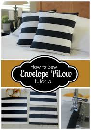 Sew Envelope Pillow Cover