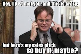 Nobody likes a pushy salesman! | Marketing Memes | Pinterest via Relatably.com