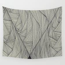 small triangle wall tapestry by