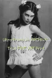Brooke shields pretty baby/little brooke shields. Brooke Shields Pretty Baby Movie Archival Photo Print 8 5 X 11 Ebay
