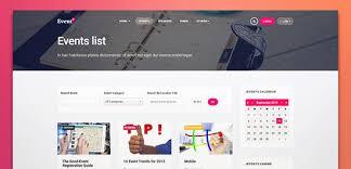 Calendar Templates For Websites Ja Events Ii Best Responsive Joomla Events Template Joomla