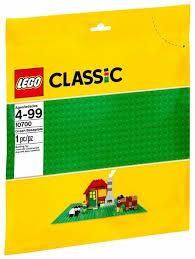 Конструктор <b>LEGO Classic</b> 10700 Зеленая плата — купить по ...