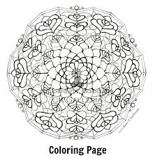 Small Picture Free Healing Mandala Coloring Pages Coloring Pages