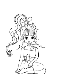 Small Picture Luxury Girly Coloring Pages 27 On Free Coloring Book with Girly