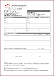 Purchase Order Form Template Order Form Template Cyberuse Lpo Format Sample Pics Rewsha 84