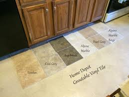 Home Depot Kitchen Floors Looking For Kitchen Flooring Ideas Found Groutable Vinyl Tile At