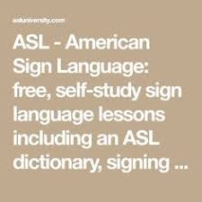 The American Sign Language Handshape Dictionary | American Sign ...