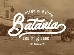 Free Typefaces For Designers Batavia Free Typeface By Julian Smith On Dribbble