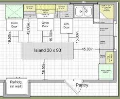 Best 25+ Kitchen island dimensions ideas on Pinterest | Kitchen planning, Kitchen  island cabinet dimensions and Kitchen layouts