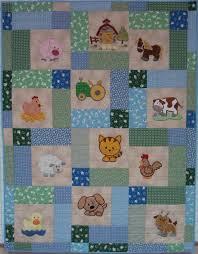 Best 25+ Free baby quilt patterns ideas on Pinterest | Simple baby ... & Farm Baby Quilt Patterns Free | Baby Farm Quilt by SandiePink | Quilting  Ideas Adamdwight.com