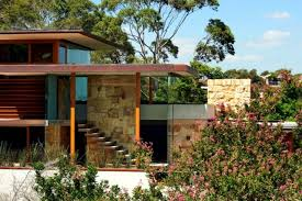modern home architecture stone. Modren Stone A Modern House With Natural Stone Facade Is The Most Recent Addition To  Urban Landscape Of Sydney Australia The Building Fascinated By A Minimalist  For Modern Home Architecture Stone