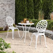 sunjoy josie white outdoor aluminum 3
