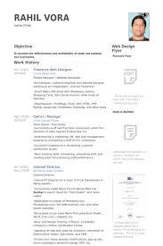 Freelance Web Designer Resume Samples Visualcv Resume Samples Database
