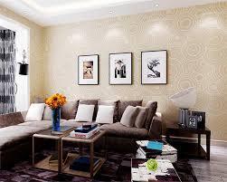 Us 4608 36 Offbeibehang Moderne Schlafzimmer Wohnzimmer Tv Hintergrund Tapete Deer Leder 3d Tapete Grau Braun Tapete Rolle Papel De Parede In