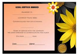 Years Of Service Award Wording 12 Free Long Service Award Certificate Samples Wordings