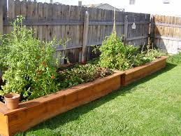box garden. How To Make A Raised Garden Box I