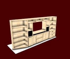 interesting furniture design. Interesting Media Center From Furniture Design Software
