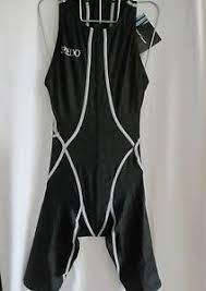 Details About Speedo Swimwear Female Black Zip Back Kneeskin Fastskin Size 27 See Size Chart