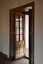 old wooden door stock photo image of interior gl 56705078
