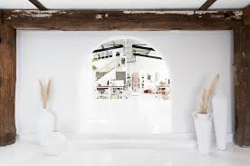 white office design. All White Office Space With Added Personality   Coco Kelley Design O