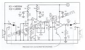 intercom circuit intercom circuit schematic