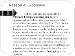 revising let s make those essays shine ppt video  5 55 reason a expensive topic sentence school uniform
