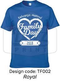 Design Baju T Shirt Family Day T Shirt Family Day 2