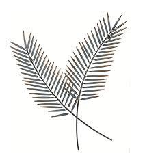 gardman 17344 palm leaf metal wall art 17344 jpg 17344alt 17344new jpg