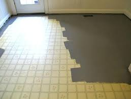 Patterned Linoleum Flooring Inspiration Painting Linoleum Floor With Grey Flooring Ideas Design Designer